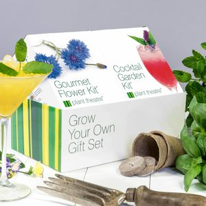 Grow Your Own Cocktail Garden And Gourmet Flower - gifts for mothers