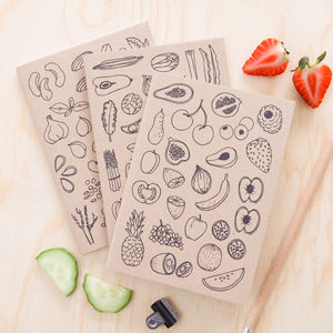 Vegan Notebooks Gift Set - summer sale