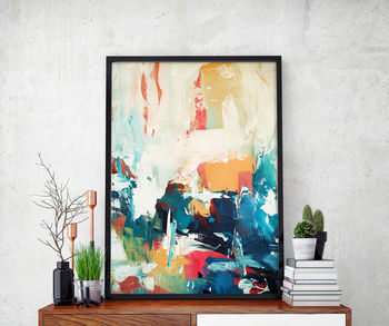 Abstract 30 Limited Edition Fine Art Print A4 Size