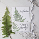 Fern Botanical Theme Personalised Wedding Stationery