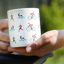 Triathlon Bone China Mug