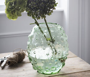 Berriedale Glass Vase - decorative accessories