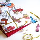 Alice In Wonderland Wrapping Paper Gift Set