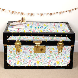 Summer Meadow Tuck Box - children's room