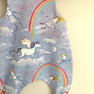 Unicorn Baby Romper, Baby Dungarees, Baby Clothes