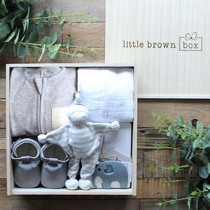 The Ultimate Grey Box - new baby gifts