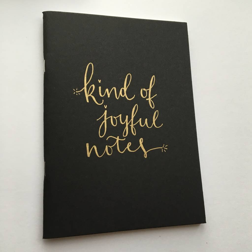 Personalised Modern Calligraphy Journal By Kayleigh
