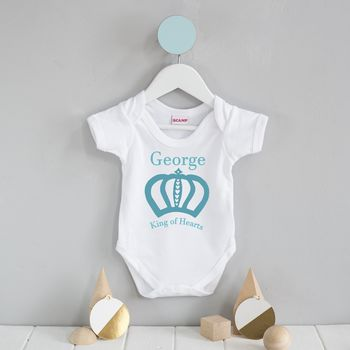 Royal Baby Personalised Baby Grow