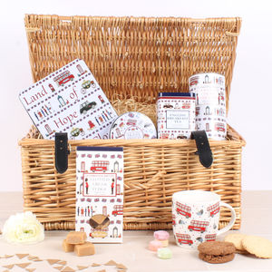Celebrating Britain Afternoon Tea Gift Hamper - picnic hampers & baskets