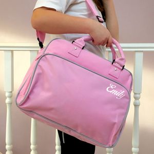 Retro Style Dance Gym Bag