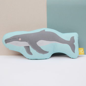 Children's Humpback Whale Cushion