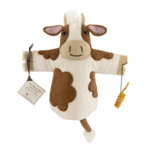 Buttercup Cow Puppet