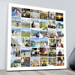 Our Travels Montage Print