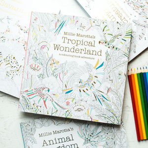 Millie Marotta Colouring Book For Grown Ups - gifts for mothers