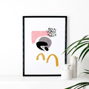Abstract Statement Art Print