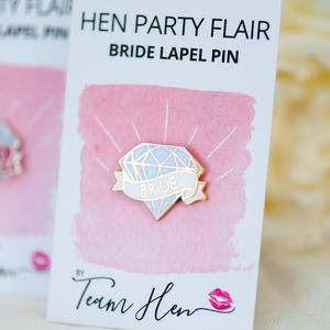 Bride Lapel Pin