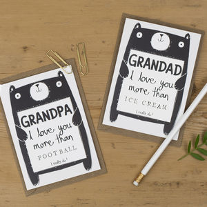 Grandpa Or Grandad Birthday Card - personalised cards
