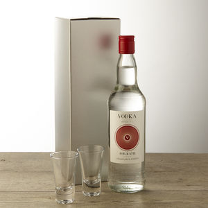Personalised Vodka - wines, beers & spirits