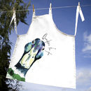 Inky Mallard Apron With Optional Personalised Message