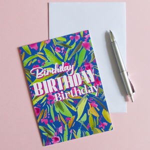 Birthday Card - birthday cards