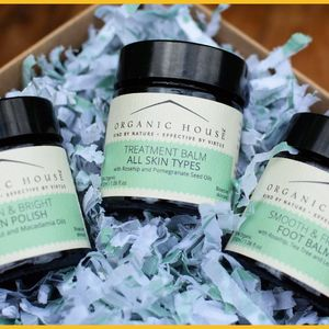 Clean And Bright Gift Set From Organic House - foot care