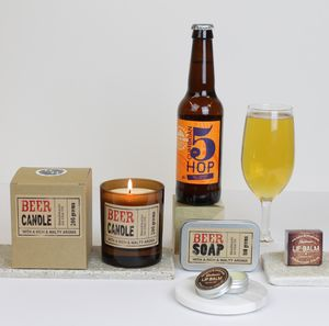 Mens Beer Themed Grooming Hamper