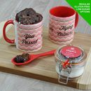 'You Passed' Congratulations Personalised Mug Cake Kit