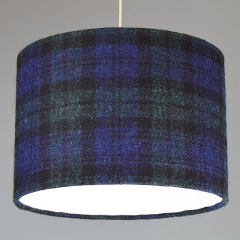 Black Watch Harris Tweed Lampshade