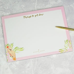 Desk Pad, 'Things To Get Done'