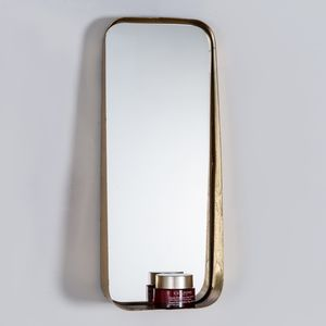 Metal Mirror With Inset Ledge In Choice Of Sizes - mirrors