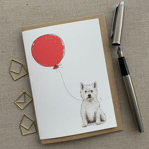 Personalised Dog Breed Of Your Choice Birthday Card