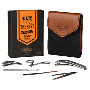 Personalised Gents Manicure Set