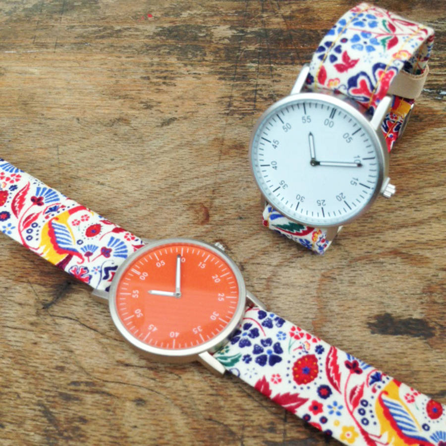 Ladies Peacock Strap Watch
