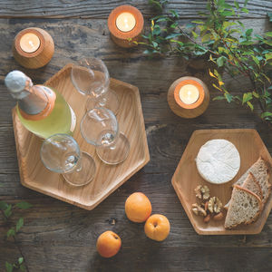 Reclaimed Cedar Wood Serving Trays - serveware