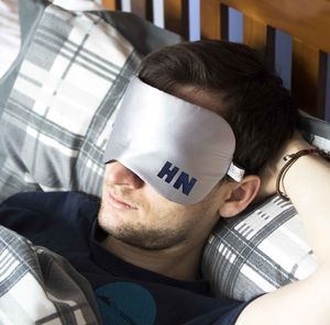 Personalised Men's Silk Eye Mask - eye masks & neck pillows
