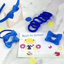 School Set & Card with stretchy bobbles