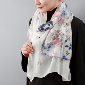 Lazy Daisy Lace Scarf - gifts for her