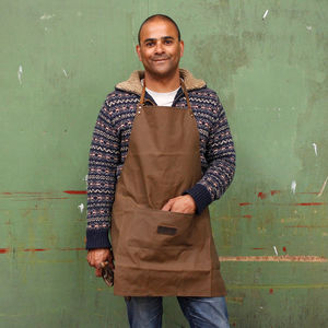 Canvas Work Apron - kitchen accessories