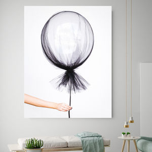 Monochrome Magic, Canvas Art - canvas prints & art