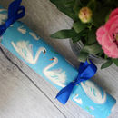 Swans And Lily Pads, Celebration Crackers Box Of Six