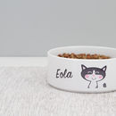 Cat Bowl Personalised