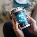 Personalised Message Tea Gift In Tin
