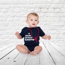 My England Supporters Babygrow