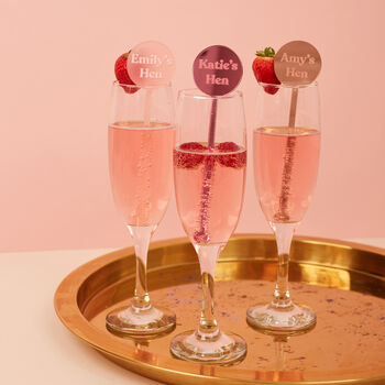 Hen Party Cocktail Stirrers