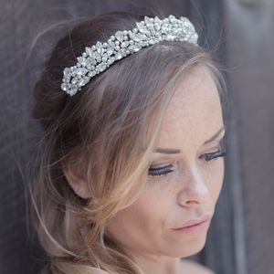Hermione Tiara - bridal hairpieces