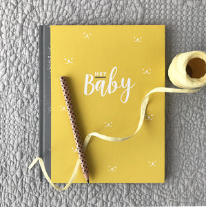 Baby Journal And Record Book - gifts for new parents