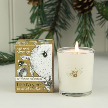 Spiced Orange Scented Votive