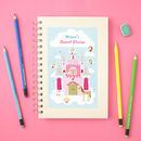 Personalised Fairy Notebook