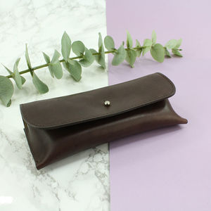 Personalised Italian Leather Glasses Case - glasses cases