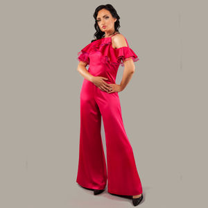 Long Bare Shoulders Jumpsuit Samantha - women's fashion